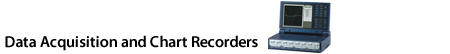 Data Acquisition and Chart Recorders